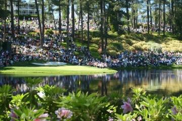 Augusta National's par-3 golf course