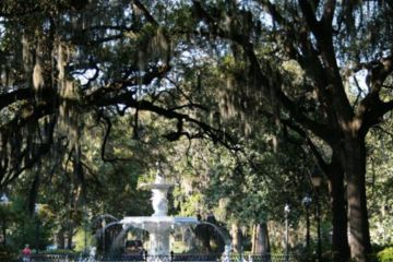Savannah, Ga. - fountain