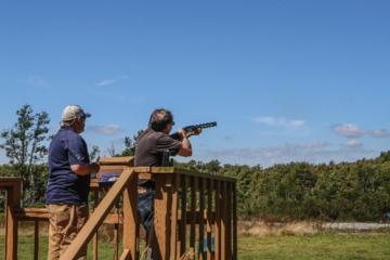 Nemacolin Woodlands Resort - shooting academy station