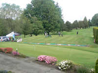 Glen Acres G & CC: driving range & putting green