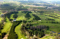 Blueberry Pines GC: Aerial view