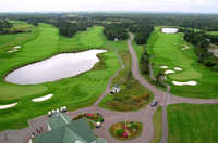 Links at Crowbush Cove: Aerial view