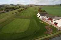Duns GC: Aerial view