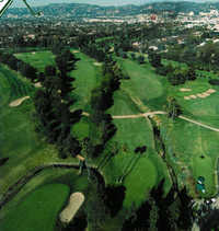 Wilshire CC: Aerial view