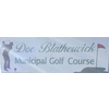 Dr. Blatherwick Golf Course Logo