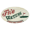Regulation at Five Waters Golf Course - Public Logo