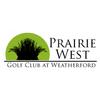 Prairie West Golf Club at Weatherford Logo