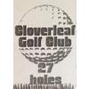 Second Nine/Third Nine at Cloverleaf Golf Club - Public Logo
