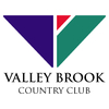 Blue/Red at Valley Brook Country Club - Private Logo