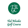 Ted Rhodes Golf Course - Public Logo