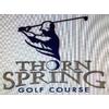 Thorn Spring Golf Course Logo
