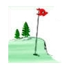 Red/White at Woodland Ridge Golf Course Logo