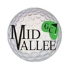 Blue/White at Mid Vallee Public Golf Course - Public Logo