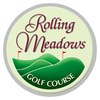 White/Blue at Rolling Meadows Golf Course - Public Logo