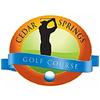 Cedar Springs Golf Course - Public Logo
