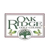 Regulation at Oak Ridge Golf Course - Public Logo