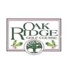Regulation at Oak Ridge Golf Course - Public Logo