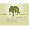 Back Acres Country Club - Private Logo