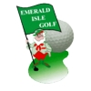 Emerald Isle Golf Course - Public Logo