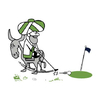 Hodja Lakes Golf Course Logo