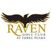 The Raven Golf Club at Three Peaks Logo