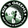 Kis-N-Greens Golf Course Logo
