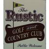 Rustic Golf & Country Club Logo