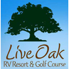Live Oak RV Golf Course - Public Logo