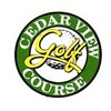 Cedarview Golf Course Logo
