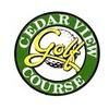 Cedarview Golf Course Logo