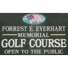 Forest E. Everhart Memorial Golf Course Logo