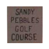 Sandy Pebbles Golf Course Logo