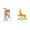 The Courses of Clear Creek - Deer Run Course Logo