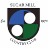 Blue/White at Sugar Mill Country Club - Private Logo