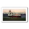 Gentz's Homestead Golf Course Logo