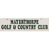 Mayerthorpe Golf Course Logo