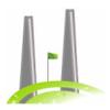 Twin Stacks Golf Club Logo