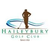 Haileybury Golf Club Logo