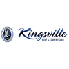 Kingsville Golf and Country Club - Red/White Logo