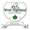 West Highland Golf Course Logo