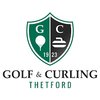 Club de Golf et de Curling de Thetford Logo