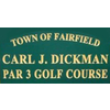 Carl Dickman Par-3 Golf Course Logo