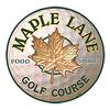 Maple Lane Golf Course Logo