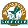 Highland Green Golf Club Logo
