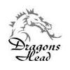 Dragons Head Par 3 Golf Club Logo