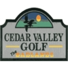 Cedar Valley Golf Course - The Badlands Logo