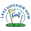 Lake Superior View Golf Course Logo