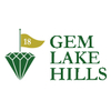 Gem Lake Hills Golf Course - Par-3 Logo