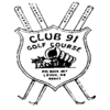 Club 91 Golf Course Logo