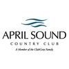 White and Blue at April Sound Country Club - Resort Logo